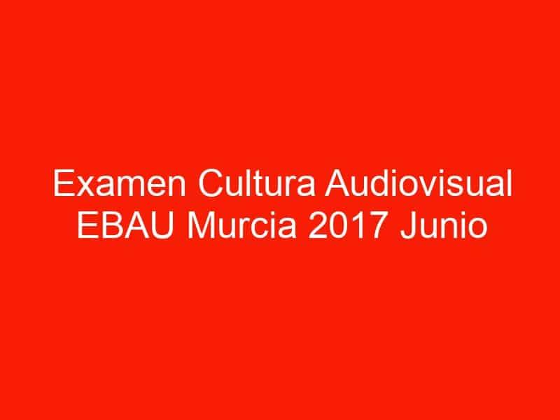 examen cultura audiovisual ebau murcia 2017 junio 4617