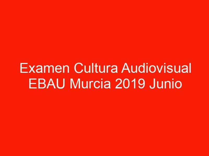 examen cultura audiovisual ebau murcia 2019 junio 4621