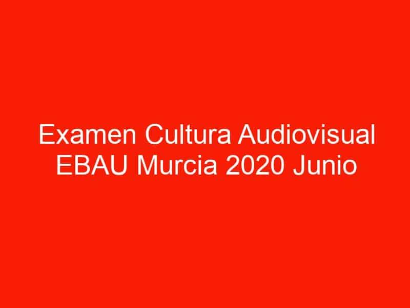 examen cultura audiovisual ebau murcia 2020 junio 4623
