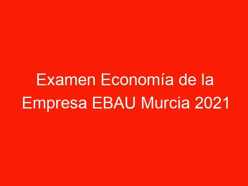 examen economia de la empresa ebau murcia 2021 septiembre 4283