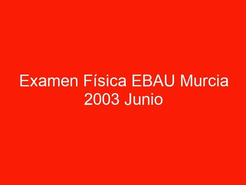 examen fisica ebau murcia 2003 junio 3829