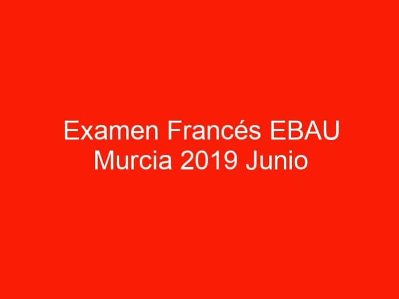 examen frances ebau murcia 2019 junio 4013