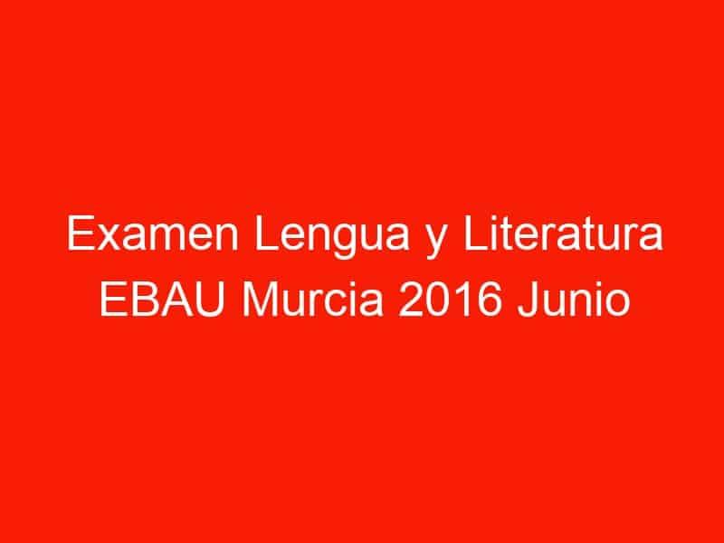 examen lengua y literatura ebau murcia 2016 junio 4311