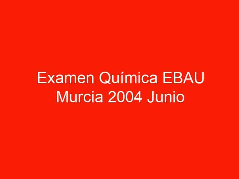 examen quimica ebau murcia 2004 junio 3755